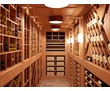 Винный погреб, винный шкаф, бутылочницы из массива, фото — «Реклама Апшеронска»