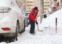 В Краснодаре на расчистку тротуаров и скверов от снега выйдет молодежь, фото — «Рекламы Новокубанска»