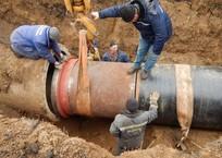 Адлерцам починили аварийный водопровод, фото — «Рекламы Адлера»