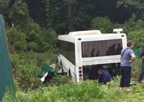 На Кубани водитель рейсового автобуса потерял сознание за рулем, фото — «Рекламы Адлера»