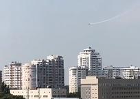 В Краснодаре кувыркающийся в небе самолет стал причиной паники горожан ВИДЕО, фото — «Рекламы Кубани»