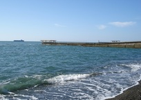 Температура воды в Черном море опустилась до 19 °С, фото — «Рекламы Адлера»