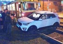 В Краснодаре «заблудившийся» сыктывкарец угодил под трамвай, фото — «Рекламы Краснодара»