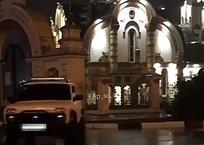 ВИДЕО: Водитель внедорожника устроил дрифт напротив церкви, фото — «Рекламы Темрюка»