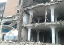 Погребенных под завалами рухнувшего здания в Краснодаре ищут кинологи с собаками, фото — «Рекламы Краснодара»