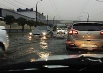 Новороссийск ушел под воду из-за проливных дождей - ФОТО, фото — «Рекламы Кореновска»
