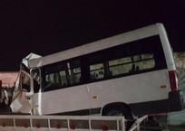 «От хомяков одни беды»: на Кубани маршрутка врезалась в зерновоз, фото — «Рекламы Кореновска»