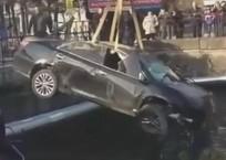 Автомобиль сорвался в реку с «заколдованного» моста в Туапсе ВИДЕО, фото — «Рекламы Адлера»