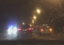 «Сложились гармошкой»: восемь автомобилей столкнулись на въезде в Краснодар ВИДЕО, фото — «Рекламы Новокубанска»