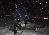 КамАЗ рухнул на легковушку с пожилым кубанцем, погибли оба водителя, фото — «Рекламы Адлера»