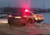 «Побоище»: сразу четыре автомобиля ДПС попали в ДТП по дороге в Краснодарский край - ВИДЕО, фото — «Рекламы Тихорецка»