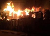 В Геленджике сгорел уникальный частный дом, знакомый каждому второму жителю города ФОТО, фото — «Рекламы Геленджика»