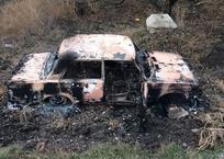 На Кубани угонщики сожгли машину, чтобы избежать наказания, фото — «Рекламы Темрюка»