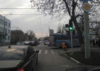 В Краснодаре 8-летняя девочка погибла под колесами автобуса, фото — «Рекламы Новороссийска»