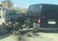 Под Новороссийском произошли сразу две аварии в одном и том же месте - ВИДЕО, фото — «Рекламы Адлера»
