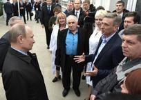 Владимир Путин в Краснодаре признался, что считает кубанское мороженое самым вкусным, фото — «Рекламы Краснодара»