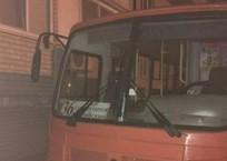 Взрывоопасные автобусы под окнами пугают жителей Краснодара, фото — «Рекламы Краснодара»