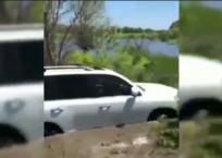Под Краснодаром два друга во время рыбалки утопили в реке Toyota Land Cruiser ВИДЕО, фото — «Рекламы Кореновска»
