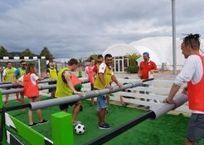 """В """"Сочи Парке"""" в Адлере установили гигантский настольный футбол , фото — «Рекламы Адлера»"""