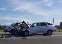 На трассе в Краснодарском крае столкнулись 3 автомобиля. Есть жертвы, фото — «Рекламы Адлера»