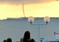 ВИДЕО: смерч проходит у берегов Геленджика, фото — «Рекламы Адлера»