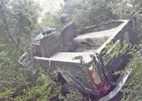 В Геленджике скончался водитель перевернувшегося в овраг внедорожника, фото — «Рекламы Геленджика»