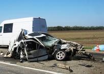 При столкновении рейсового автобуса, микроавтобуса и легковушки погибли люди на Кубани ФОТО, фото — «Рекламы Хадыженска»