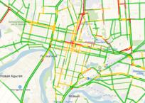 Яндекс назвал самые загруженные дороги Краснодара, фото — «Рекламы Кубани»