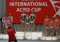 Кубанские акробатки взяли серебро этапа Кубка мира, фото — «Рекламы Кубани»