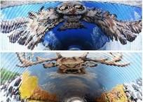 Художники из Краснодара превратили тоннель в «Роза Хутор» в арт-объект ФОТО, фото — «Рекламы Краснодара»
