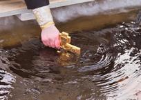 В Краснодаре определили семь мест для крещенских омовений, фото — «Рекламы Краснодара»