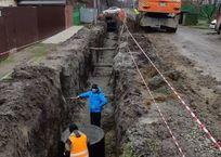 В Пашковском районе Краснодара начали строить канализацию, фото — «Рекламы Кубани»
