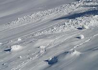 Из-за схода снежной массы 14 человек оказались заблокированными в Красной Поляне, фото — «Рекламы Кропоткина»