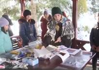Уникальная акция «Повесть леса. Зима» прошла в Хадыженске, фото — «Рекламы Кубани»