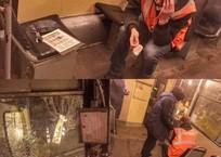 Мэр Краснодара лично поинтересовался здоровьем пострадавшего от брошенного камня водителя трамвая, фото — «Рекламы Краснодара»