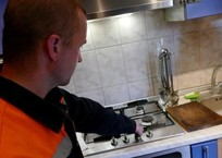 Жители Краснодара опасаются мошенников в связи с проверками газового оборудования в их домах, фото — «Рекламы Кубани»
