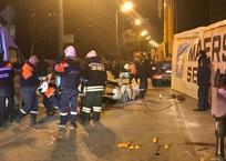 На Кубани фура опрокинулась и раздавила легковушку. Погибла девушка, фото — «Рекламы Тихорецка»
