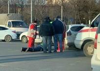 Молодой парень сбил ДПС-ника в Краснодаре ВИДЕО, фото — «Рекламы Кубани»