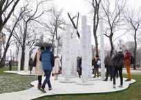 В Краснодаре появилась скульптура «Столпы», фото — «Рекламы Краснодара»