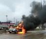 В Краснодарском крае на ходу загорелась иномарка с семьей пенсионеров ВИДЕО, фото — «Рекламы Новокубанска»