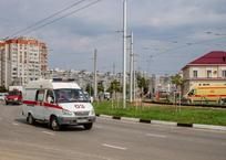 В Краснодаре автомобиль сбил семилетнего ребенка во дворе дома, фото — «Рекламы Кубани»