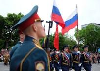 В 12 городах Кубани 9 мая пройдет торжественный марш войск, фото — «Рекламы Адлера»