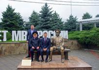 В Краснодаре открыли памятник участковому Анискину, фото — «Рекламы Кубани»