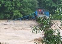 На Кубани стихия разрушила два автомобильных моста ФОТО, фото — «Рекламы Адлера»