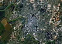 Российский космонавт Рязанский сфотографировал Краснодар с орбиты, фото — «Рекламы Кубани»