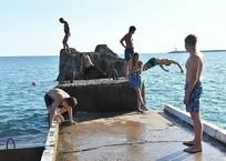 Температура морской воды на Кубани: комфортнее всего купаться в Туапсе, фото — «Рекламы Анапы»