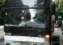 На Кубани в ДТП с рейсовым автобусом пострадали три человека, фото — «Рекламы Темрюка»