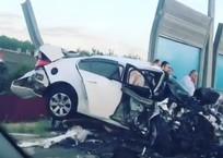 На Кубани в лобовом столкновении автомобилей погибли два человека, фото — «Рекламы Приморско-Ахтарска»