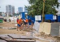 Месячная норма за полчаса: Анапу затопил тропический ливень ФОТО, фото — «Рекламы Кубани»