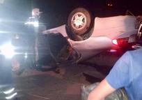 Опубликовано видео с места ДТП в Краснодарском крае, где Dodge упал в канал и погибли 3 человека, фото — «Рекламы Белореченска»
